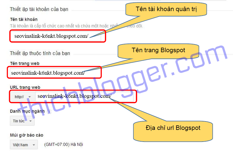 Cách cài đặt Google Analytics cho Blogspot và WordPress