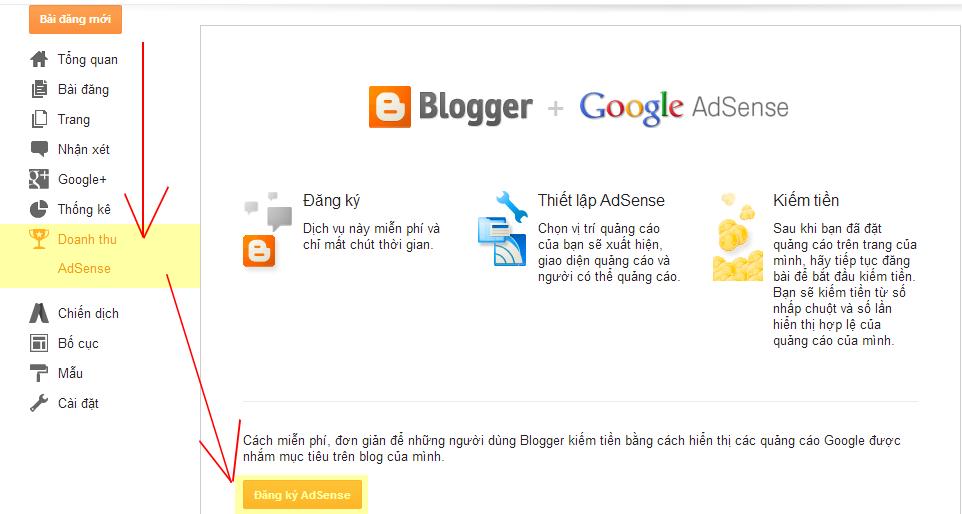 Tôi đăng ký Google Adsense Content thành công như thế nào?