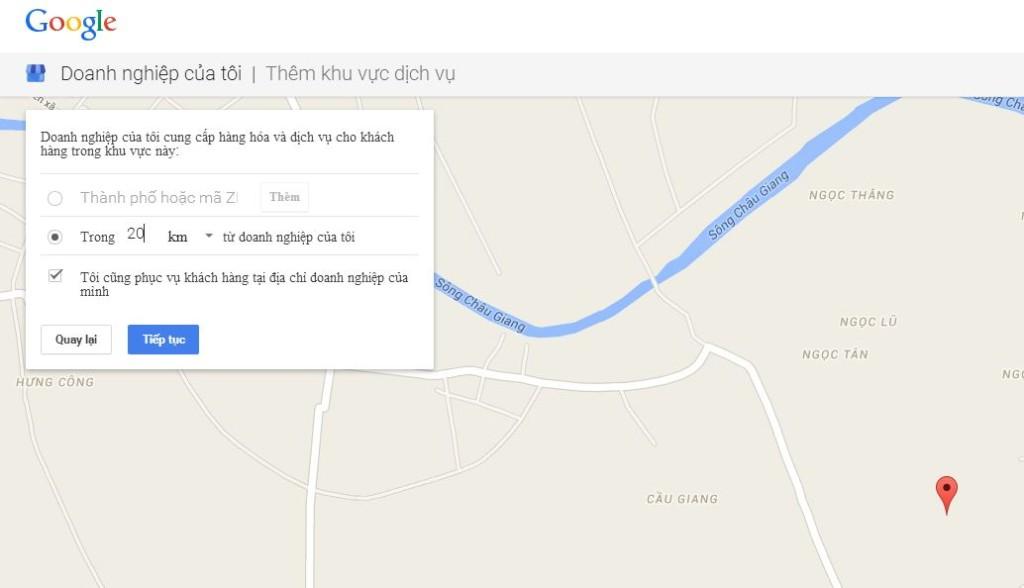 Đăng ký địa chỉ doanh nghiệp lên Google Maps - SEO Local