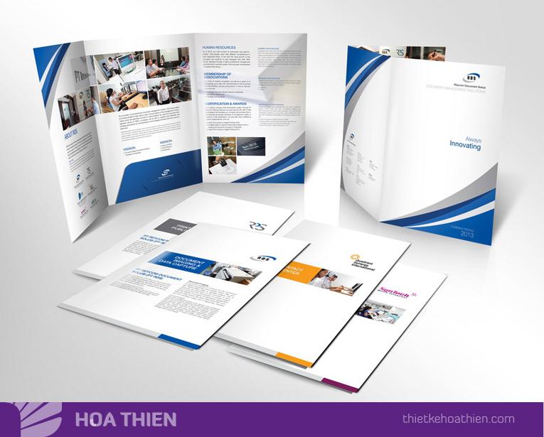 Nên thiết kế profile & portfolio ở đâu uy tín tại Tp.HCM?