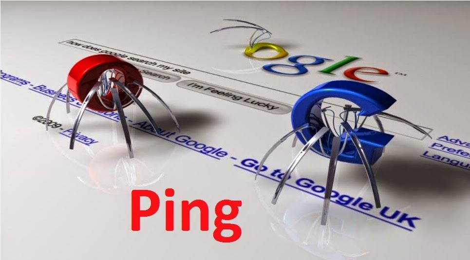 Danh sách web Ping - Website của bạn được index nhanh nhất