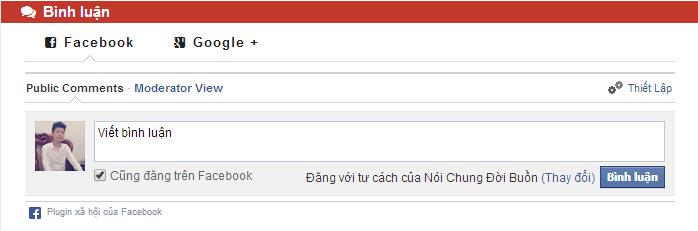 comment facebook