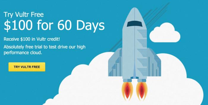 Nhận miễn phí 100$ từ Vultr sử dụng VPS trong 60 ngày