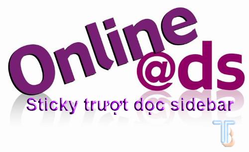 Tạo Sticky banner quảng cáo dính trượt trên Sidebar website